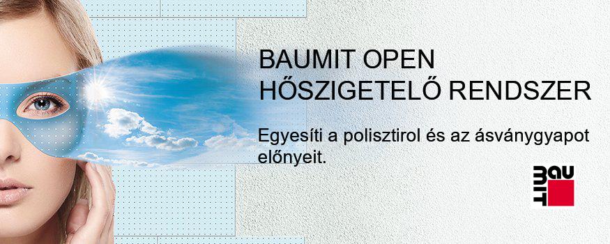 BAUMIT OPEN hőszigetelő rendszer