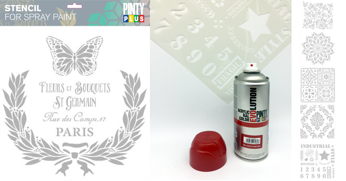 PintyPlus Stencil - Dekorálj szabadon