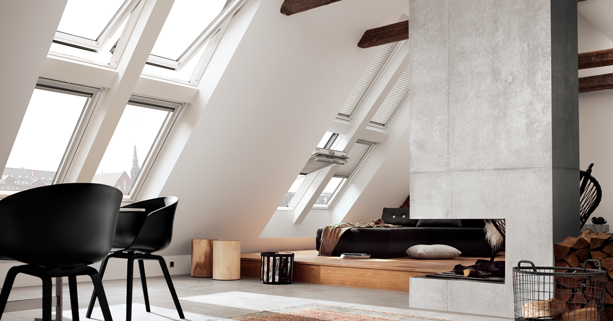 Miért válassza a tetőteret? Háztervezési tippek a Velux-tól