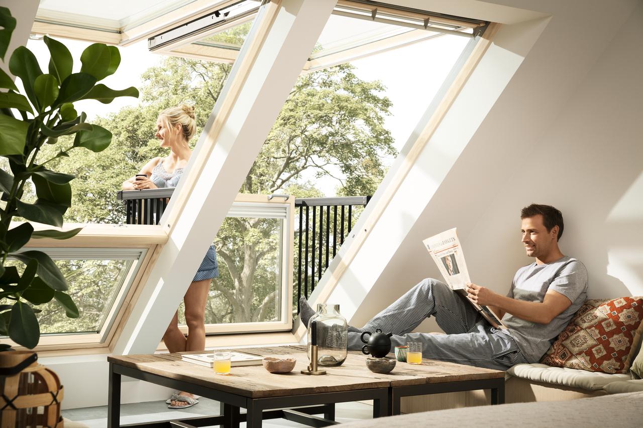 Miért válassza a tetőteret? Velux háztervezési tippek 2.