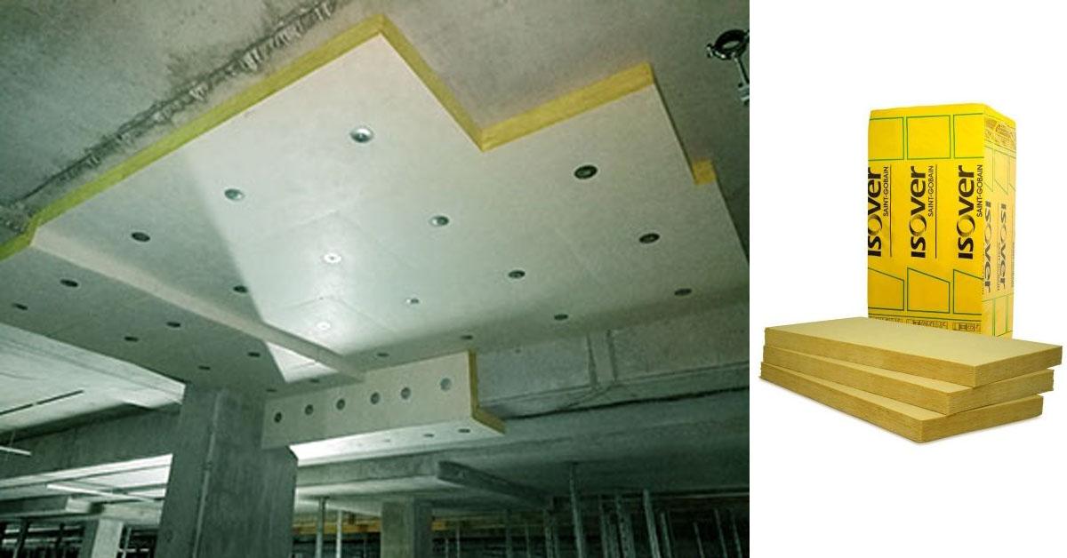 Árkád-, pince- és garázsfödémek hőszigetelése ISOVER üveggyapottal