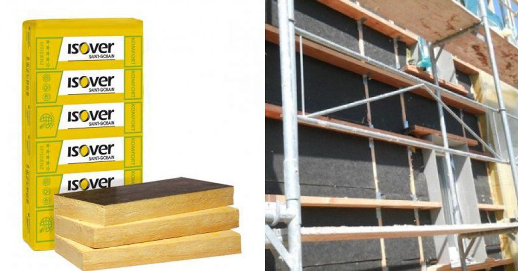 ISOVER - Homlokzat, lábazat és pincefal hőszigetelésének anyagai
