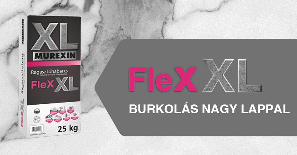 Nagyméretű lapok burkolása Murexin Flex XL ragasztási rendszerrel