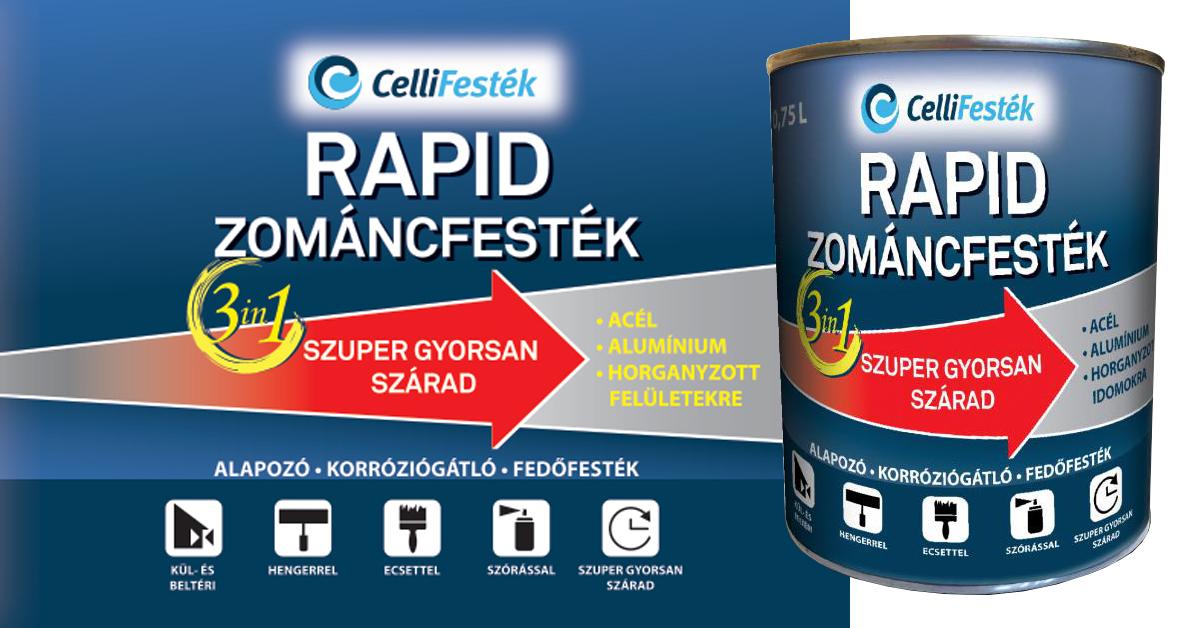 Celli RAPID zománcfesték 3in1
