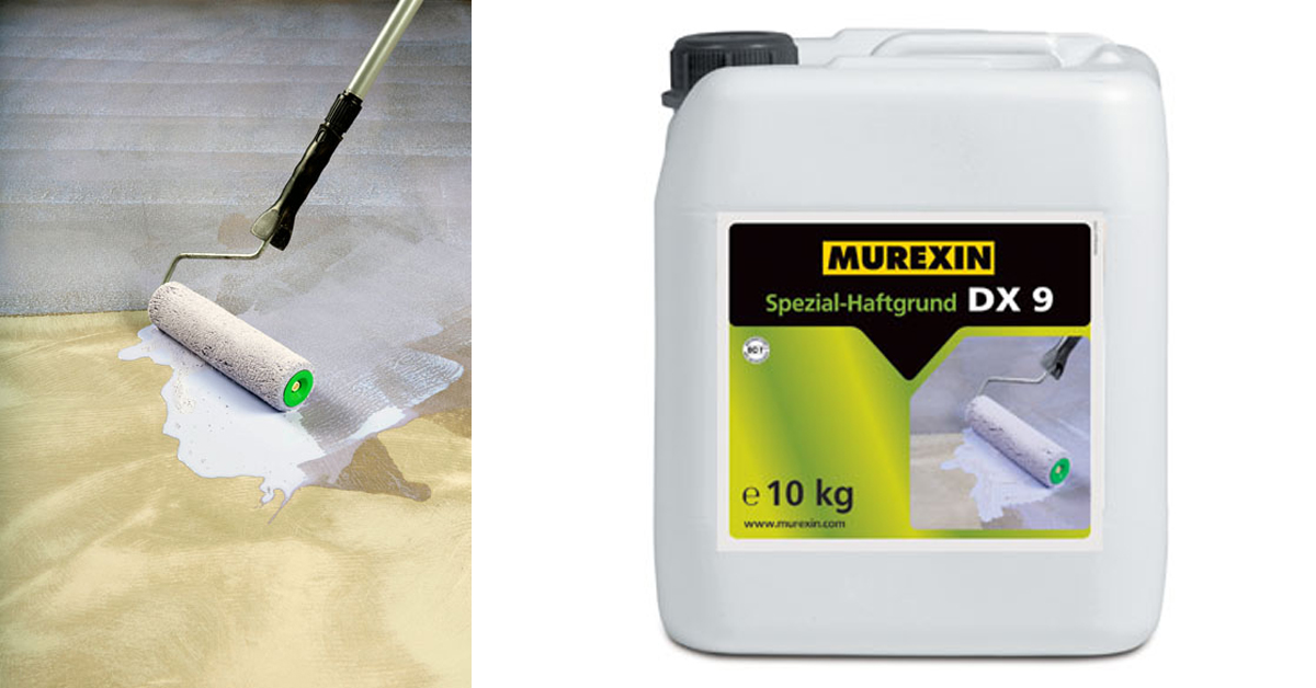 Murexin DX 9 Speciális Tapadóhíd – az alapozó, bármilyen felületre