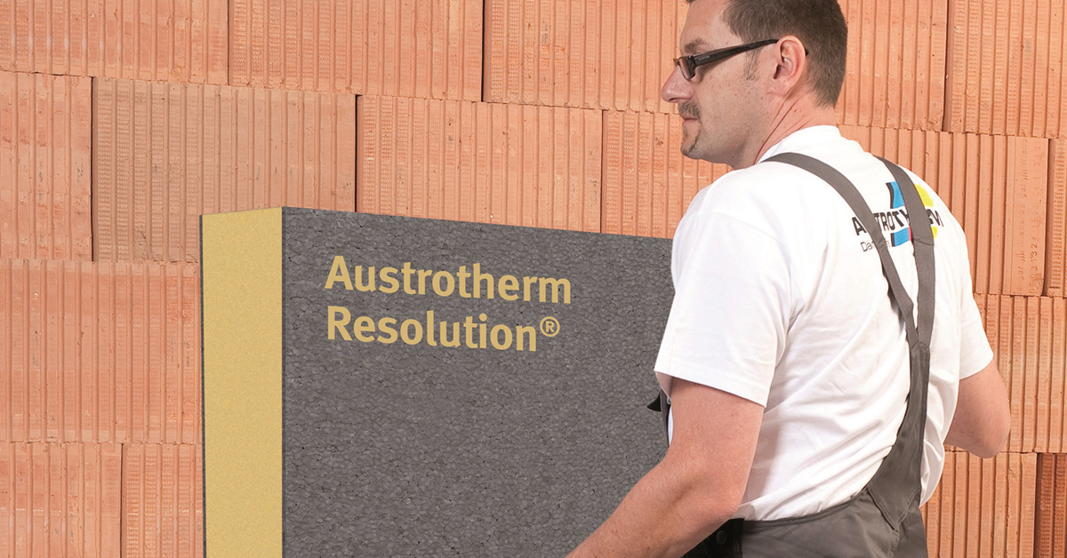 Új Austrotherm homlokzatszigetelés kritikus esetekre