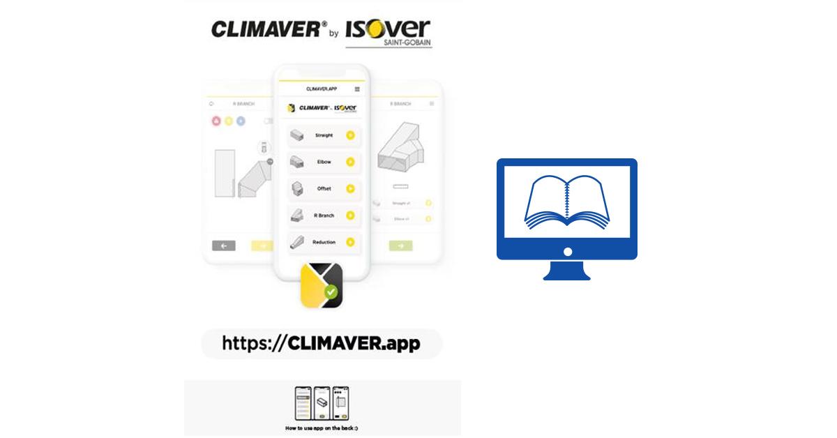 Új Isover CLIMAVER mobilapplikáció