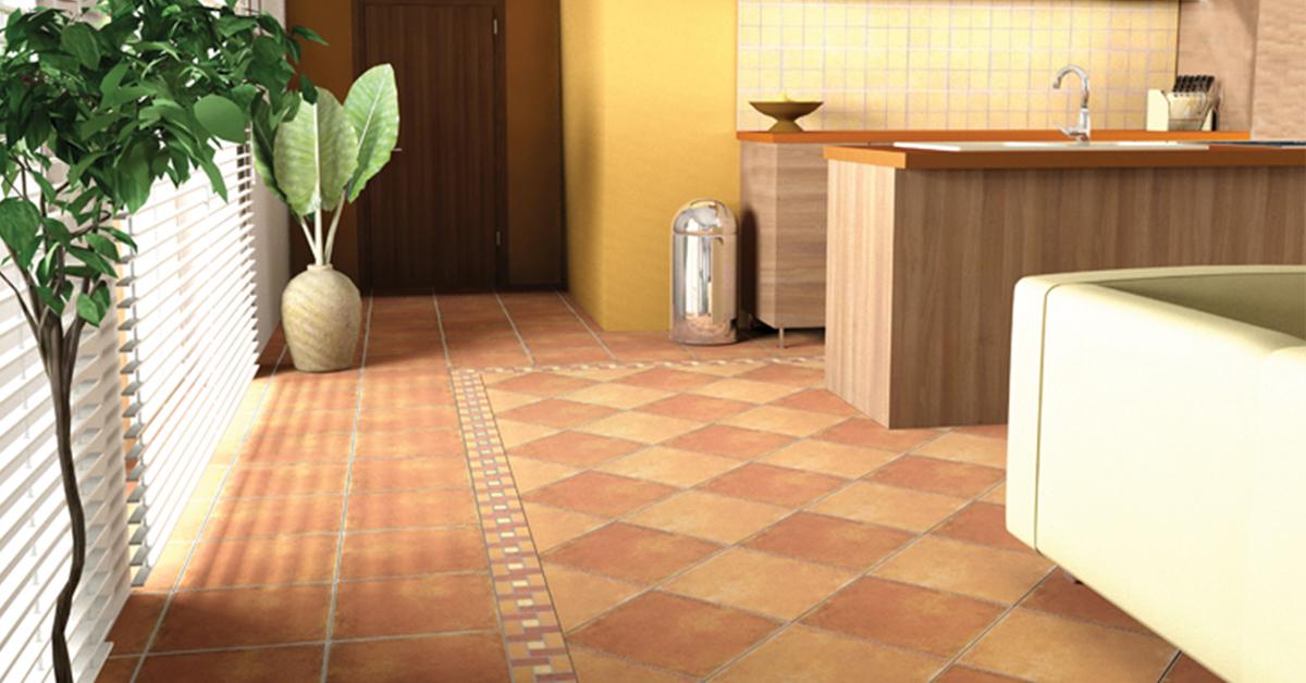 Zalakerámia mediterrán dekor csempék konyhába