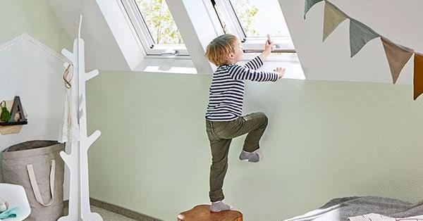 Gyerekzár a Roto tetőtéri ablakokon