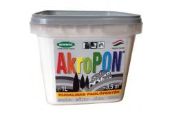 AkroPon flexibilis padlófesték 1l sötét szürke