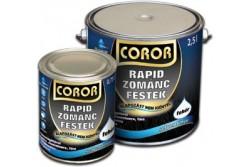 Coror Rapid Zománcfesték Szürke 0,25L