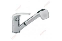 FERRO Vasto Konyhai csaptelep kihúzható zuhanyfejjel