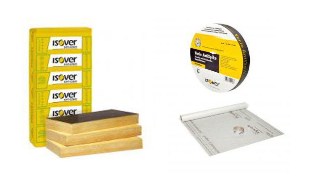 ISOVER termékek abc sorrendben külső falak
