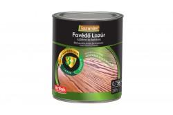 Lazurán 3in1 oldószeres favédő lazúr Mogyoró 0,75L