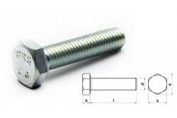 Metrikus csavar 6x80 mm, hatlapf. 5.8 horg. tövigmenetes, DIN933 (200db/doboz)