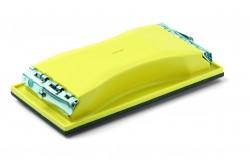 Sandpad 102x210mm kézi csiszoló, 3mm-es mohagumi réteg