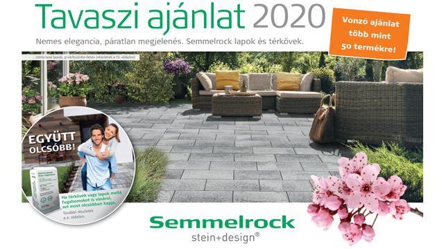 Semmelrock lapok és térkő tavaszi ajánlat 2020.03.16-05.31