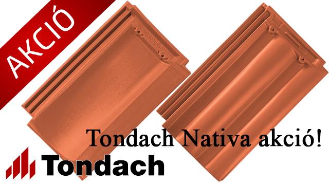 Tondach Nativa akció: Költséghatékony és megbízható megoldás tetőfelújításra
