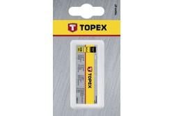 TOPEX Menetfúró készlet, M6, DIN 352, 3db, műanyag dobozban