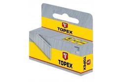 TOPEX Tűzőkapocs, 12 mm/1000 db, G