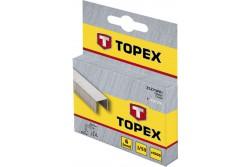 TOPEX Tűzőkapocs, 8 mm/1000 db, J