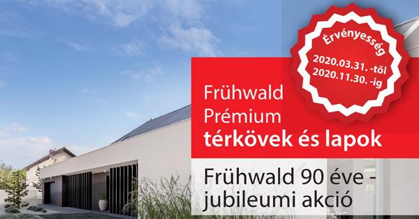 Frühwald 90 éve - Jubileumi nyereményjáték 2020.03.31-2020.11.30-ig