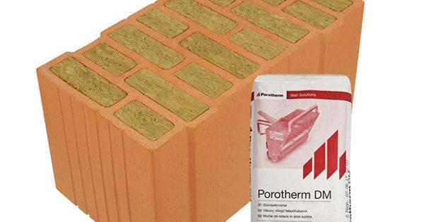 Porotherm Energy + tégla