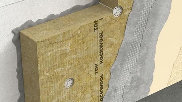 ROCKWOOL Frontrock vakolathordó homlokzati hőszigetelő lemezek új néven és csomagolásban