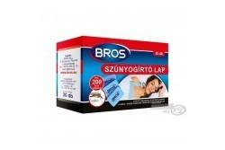 BROS - utántöltő lapka szúnyogriasztó készülékhez  20 db