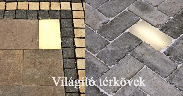 Lighting Bricks Világító térkövek