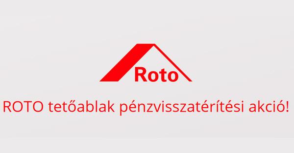 Roto pénzvisszatérítési akció
