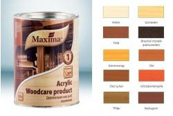 Maxima Acrylic Woodcare vastaglazúr 0,75l őszi juhar