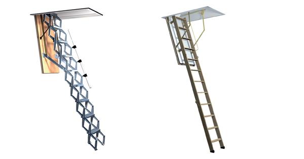 Roto padláslépcsők
