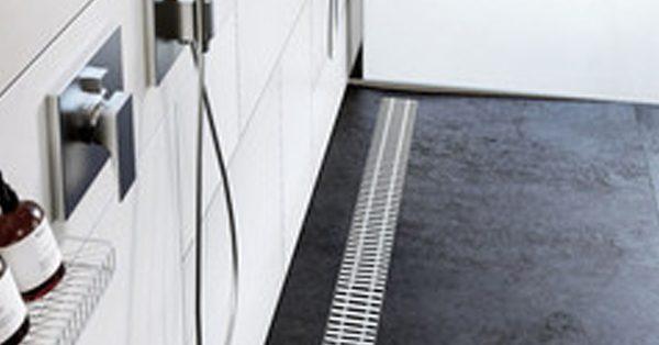 Sorzuhanyó kialakítása ACO Public zuhanyfolyókával
