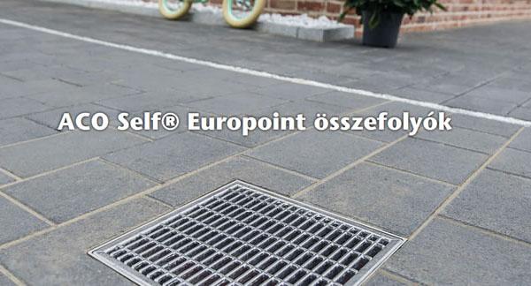 ACO Self® Europoint pontösszefolyó