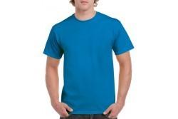 Gildan póló, sötétkék 100% pamut L