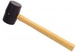 Gumikalapács fa nyéllel 450 g, átm. 62mm