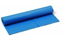 Sato 120l hulladékzsák, 70x110cm, 10db, kb. 40my, kék