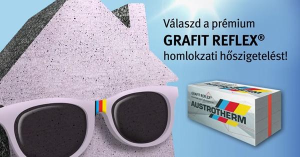 Austrotherm GRAFIT REFLEX® homlokzatszigetelési akció