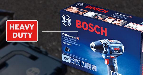 Bosch Heavy Duty – erő, teljesítmény és robusztusság újradefiniálva!