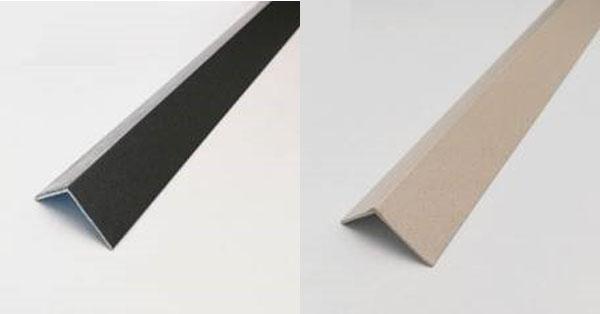 Kőhatású porszórt sarokvédő profil - alumínium