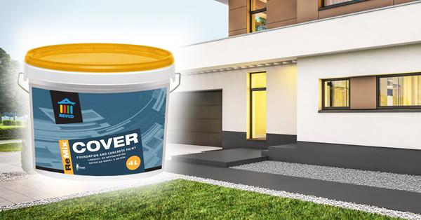 REVCO ReMix COVER lábazat- és betonfesték