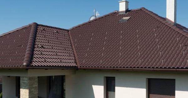 Terrán hullámos profilú beton tetőcserepek