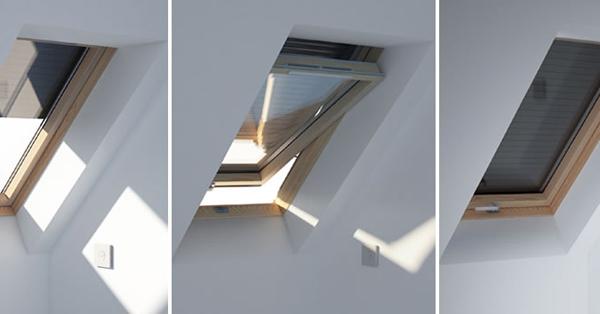 DAKEA napelemes működtetésű redőny tetőtéri ablakra