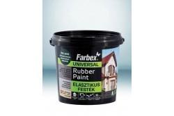 Farbex Rubber Paint elasztikus univerzális festék 1,2 kg vörösbarna