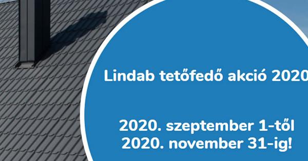 Lindab tetőfedő akció 2020