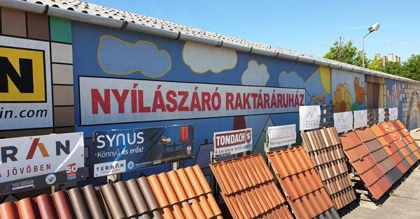 Nyílászáró szakáruház Budapesten a Pázmány Péter utcában telephelyünkön
