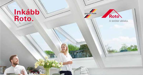 Roto Tetőtéri ablakok, kiegészítők & szolárrendszerek