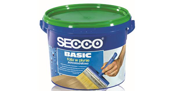 SECCO beltéri kenhető vízszigetelés