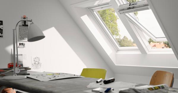 VELUX dolgozószobai ötletek - fényt hozunk az otthoni dolgozószobába